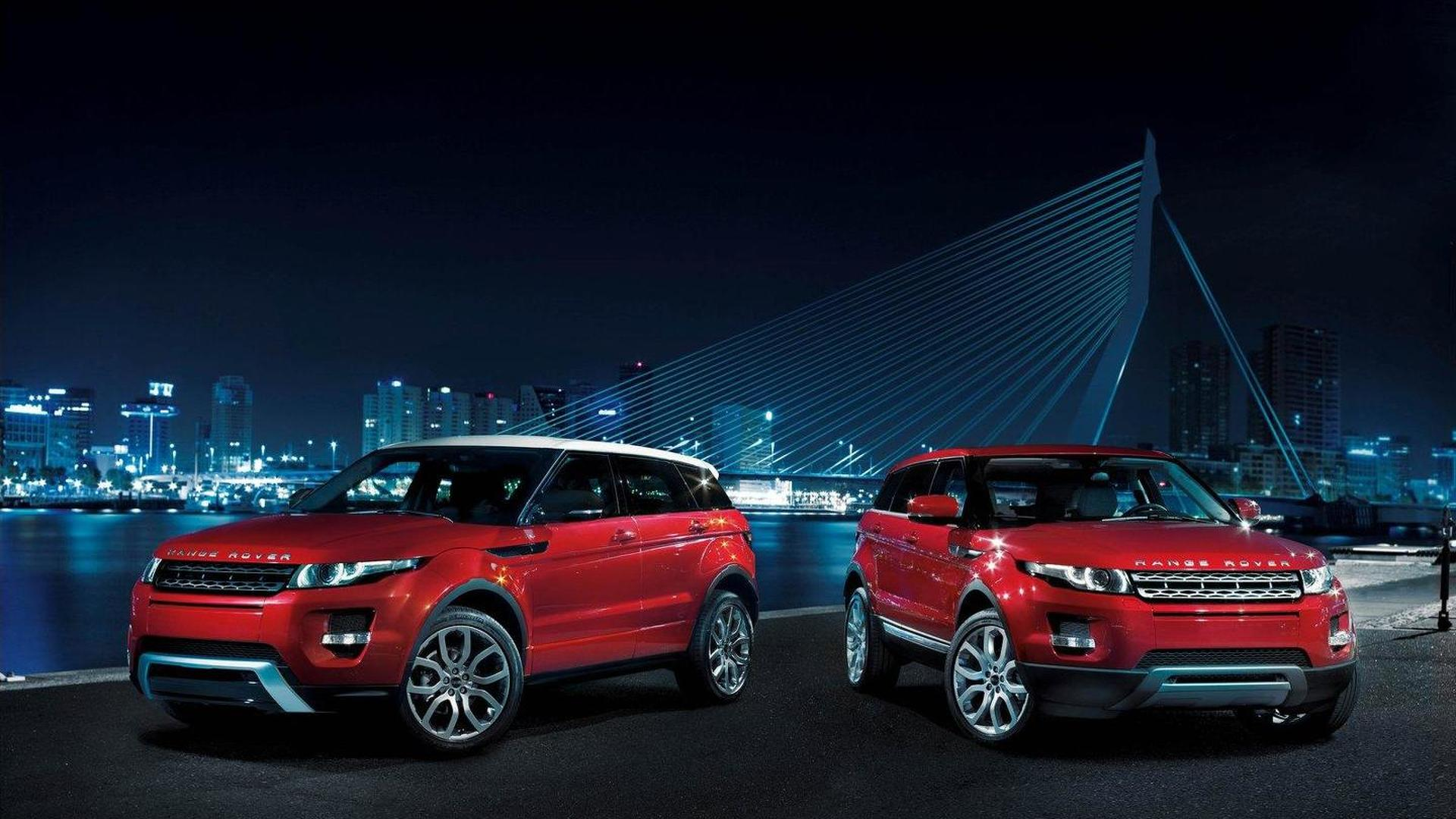 Range Rover Evoque XL under consideration - report