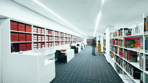 The library of the Porsche-Archives at the new Porsche-Museum