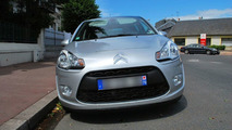 New Citroen C3 photographed on the street