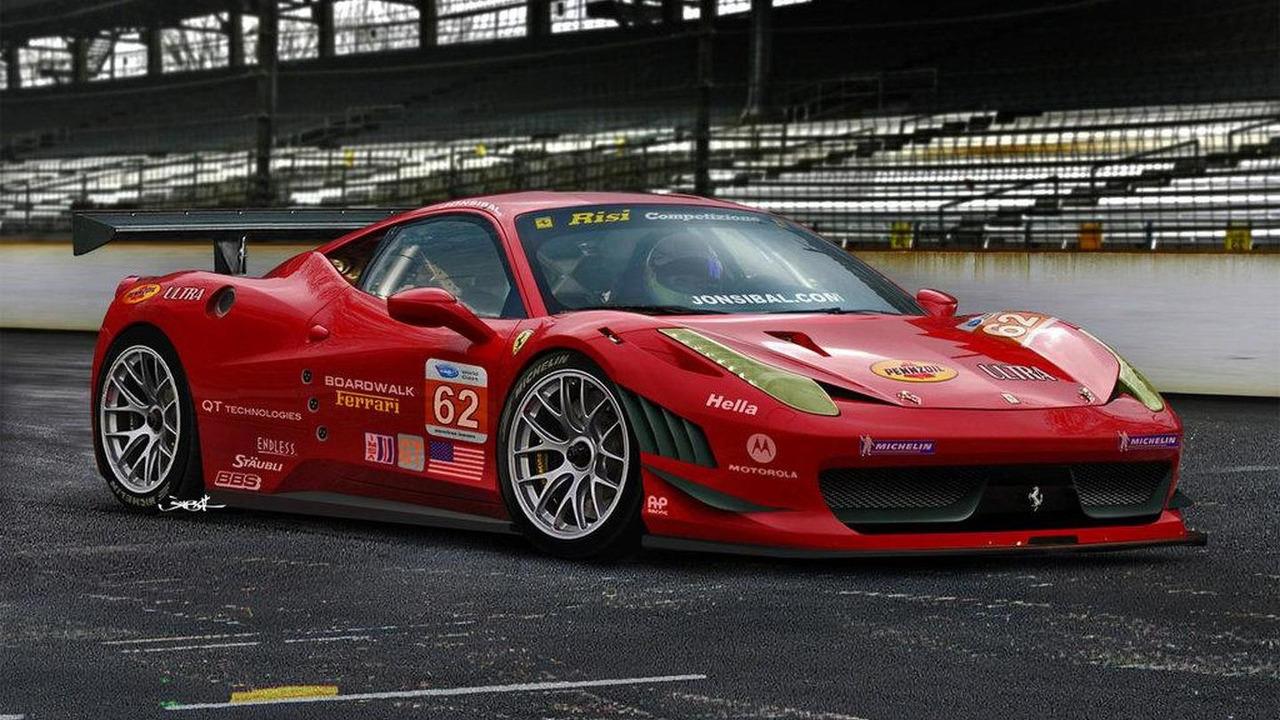 Ferrari 458 GT rendering