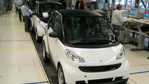 New smart fortwo Production Start