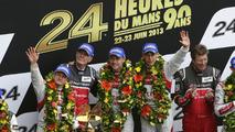 Audi R18 e-tron quattro victorious at Le Mans