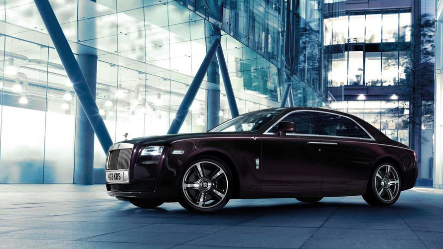 Rolls-Royce Ghost V-Specification officially announced with 593 bhp