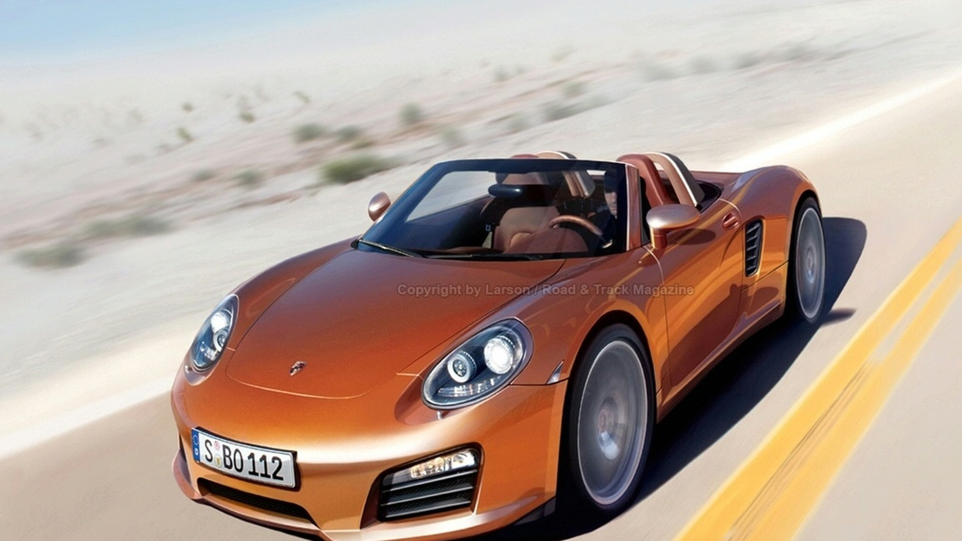 Porsche 550 coming in 2014 - report