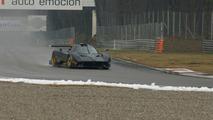 Pagani Zonda R on Track