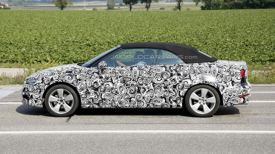 2014 Audi A3 Cabrio returns in a new spy photo session