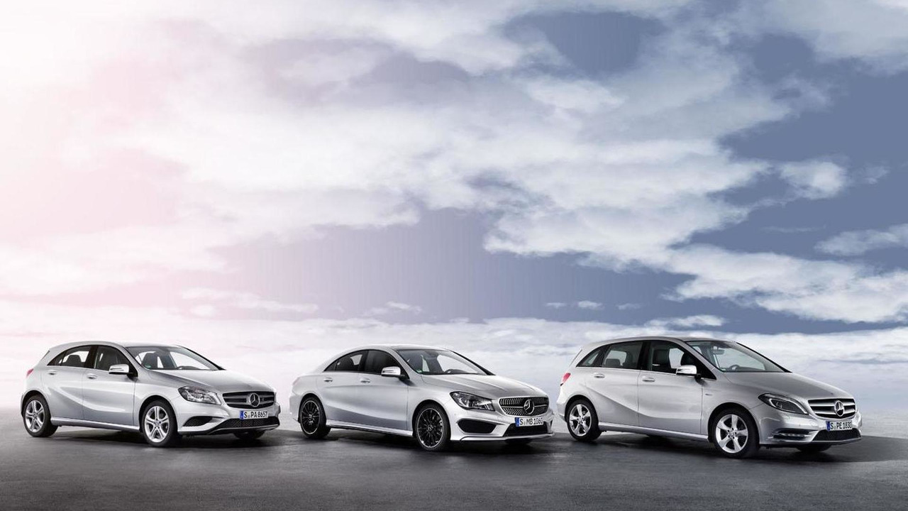 Mercedes A-, B-, and C-Class 01.7.2013