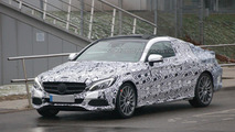 2016 Mercedes C-Class Coupe spy photo
