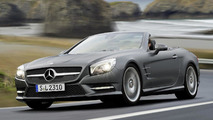 2013 Mercedes SL officially unveiled