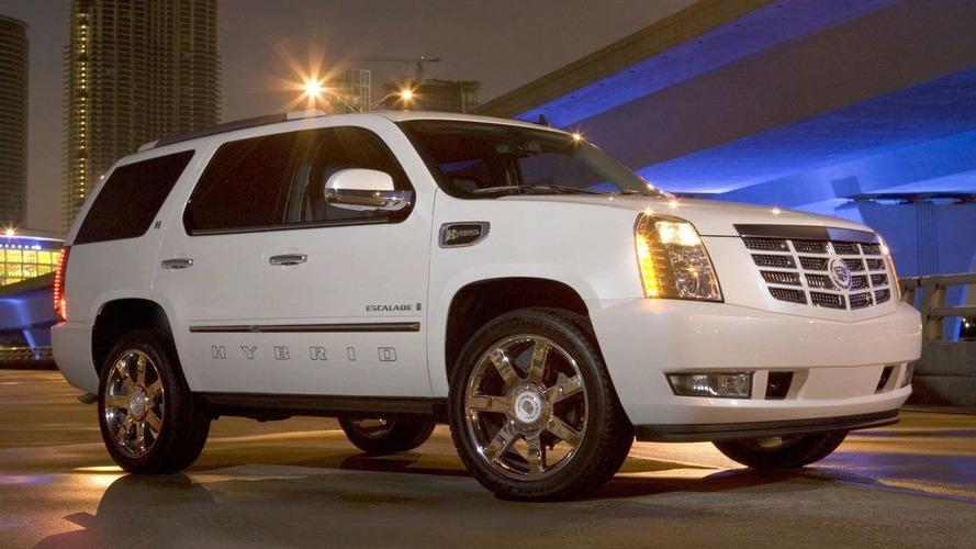 Cadillac Escalade Hybrid Announced for LA Auto Show
