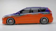 Hyundai Elantra Touring 'Beach Cruiser' Concept Bows at SEMA
