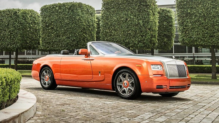 Pebble Beach 2016 - Rolls-Royce Phantom Drophead Coupé Beverly Hills Edition