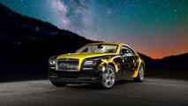 Anotnio Brown Rolls-Royce Wraith