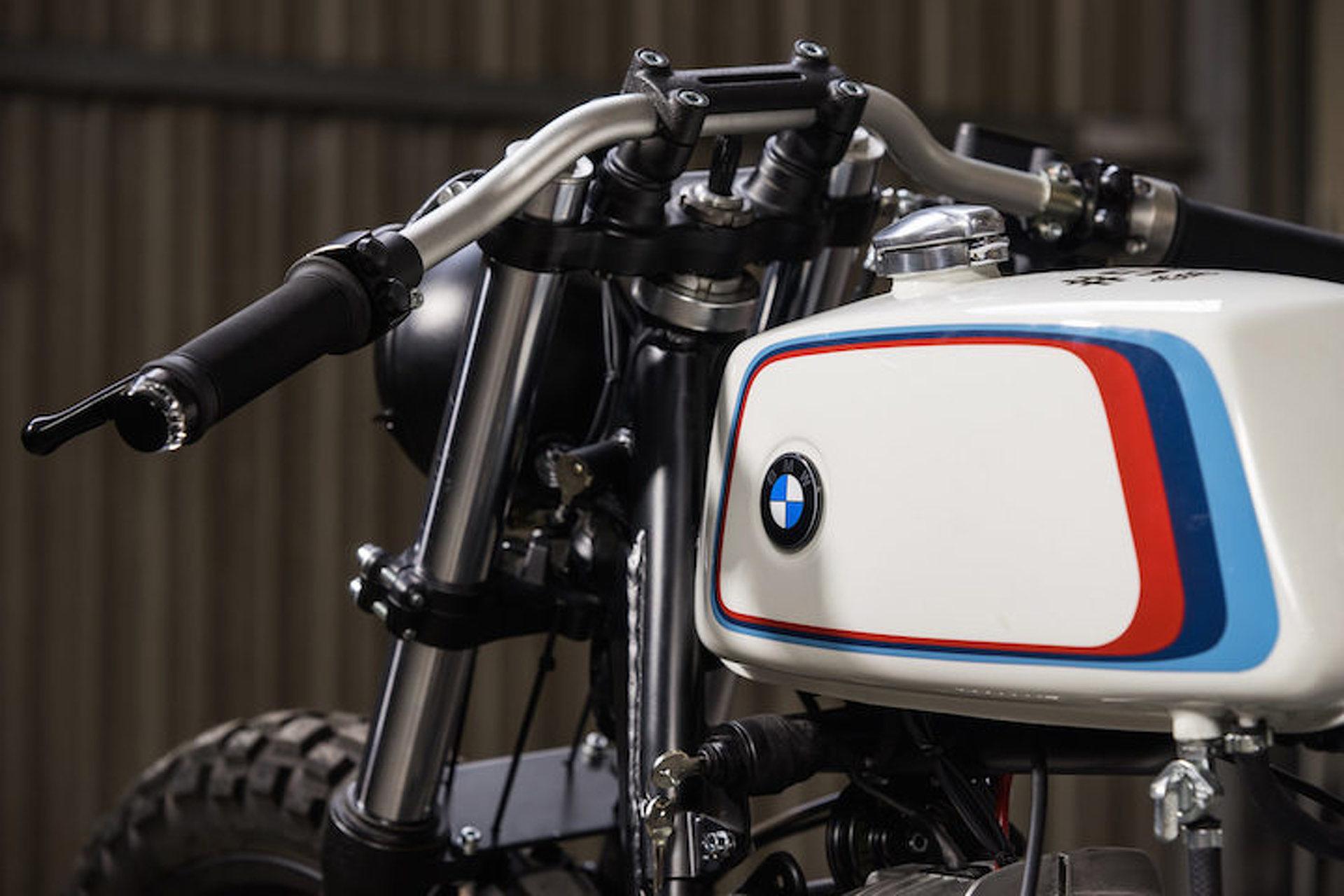 This Custom BMW R100 is a German Motorsport Dream