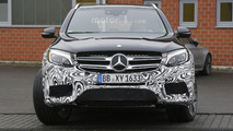 Mercedes-AMG tests V8-powered GLC 43 prototype to prepare GLC 63