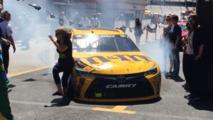 NASCAR addresses Kyle Busch incident where he struck a spectator