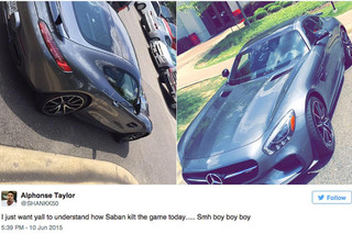 Nick Saban's Mercedes-AMG GT S Shut Down Training Camp