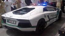 Lamborghini Aventador for Dubai Police