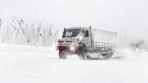 2014 Mercedes Unimog & Econic teased in official spy photos