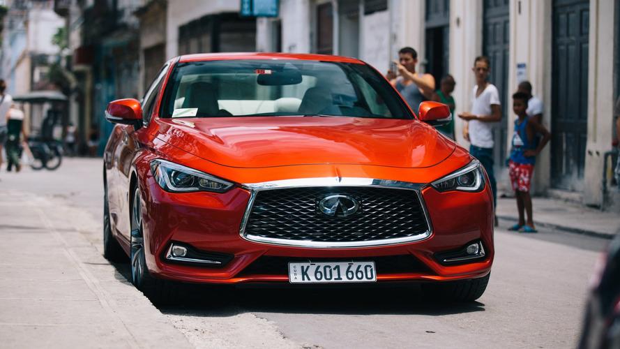 Infiniti Q60 é o 1º carro norte-americano emplacado em Cuba em 58 anos