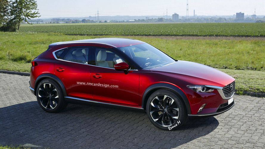 Mazda CX-9 virtually imagined ahead of official premiere