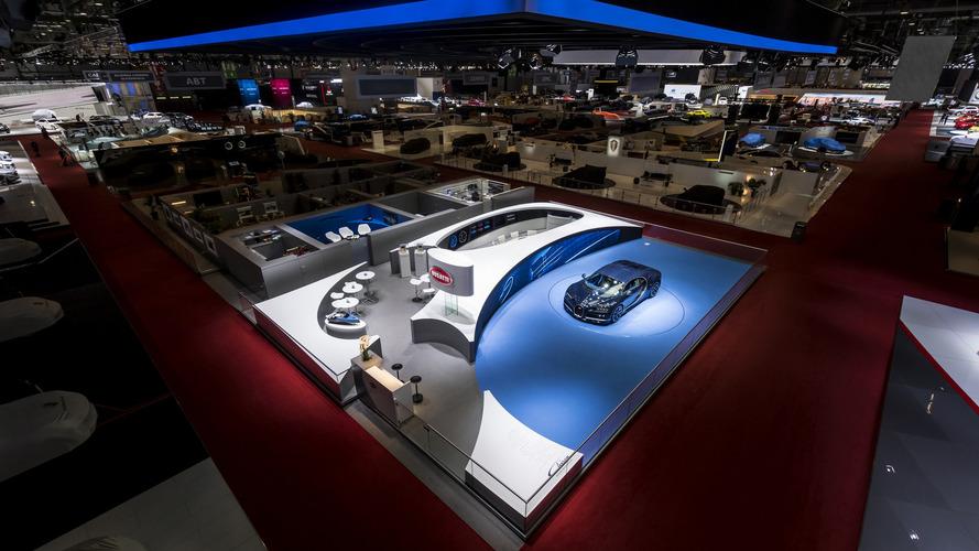 Bugatti had best stand at Geneva Motor Show