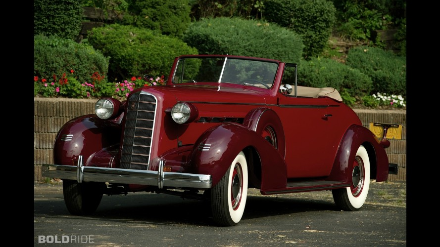 LaSalle Convertible Coupe