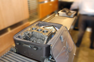 Ford 1.0L EcoBoost Engine Sneaks Into Carry-On En Route to LA