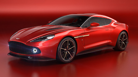 Aston Martin will make 99 units of the stunning Vanquish Zagato