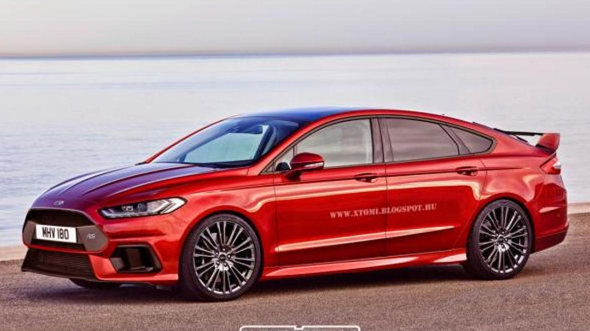 ford mondeo rs renders show great potential. Black Bedroom Furniture Sets. Home Design Ideas