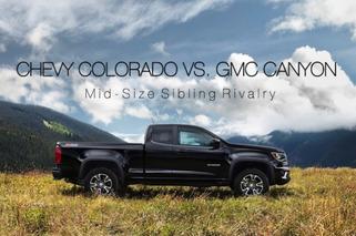 GMC Canyon vs. Chevy Colorado: Mid-Size Sibling Rivalry