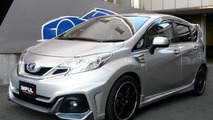 Nissan Note gets tuned by Impul