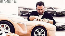 Possible 2015 Ford Mustang clay model (enlarged)