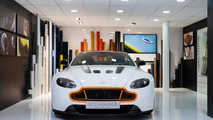 Aston Martin unveils a bespoke V12 Vantage S & Vanquish Volante in Geneva