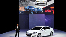 Next-generation Chevrolet Cruze unveiled at Auto China