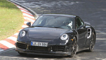 2013 Porsche 911 Turbo production version spied 12.07.2011
