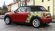 2016 MINI Cooper Cabrio spy photo