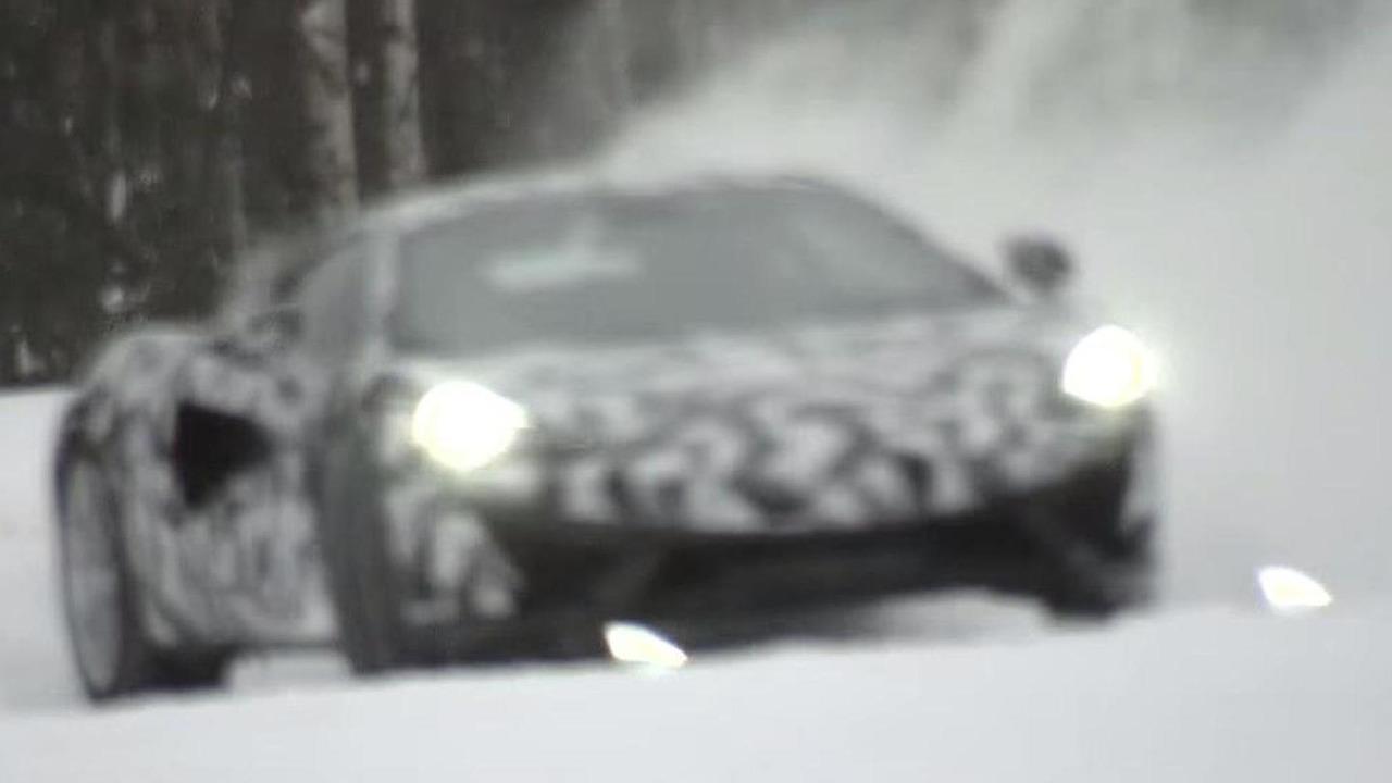 McLaren Sports Series screenshot from teaser video