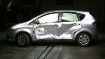 Seat Altea Success in the Euro NCAP Safety Tests