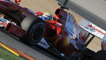 Unique engine mounting is 2010 Ferrari 'secret'