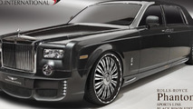 Rolls Royce Phantom tuning program by Wald previewed