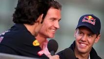 Mark Webber, David Coulthard, Sebastian Vettel, Chinese Grand 18.04.2009
