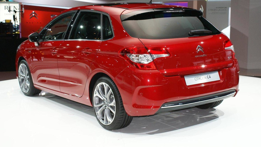 2011 Citroën C4 live in Paris