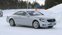Mercedes S-Class Coupe Spied Practically Uncovered