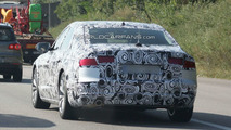2011 Audi A8 Full Body Prototype First Spy Photos