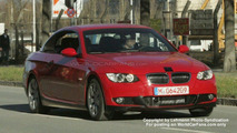 SPY PHOTOS: Sport kit for BMW 3-Series Convertible