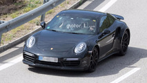 Next-generation Porsche 911 Turbo test mule spied for first time