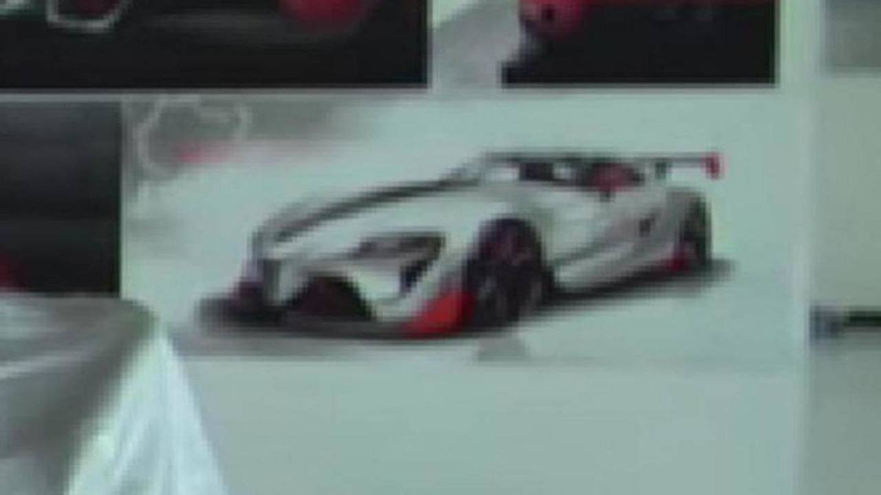 Mysterious Toyota FT-1 rendering