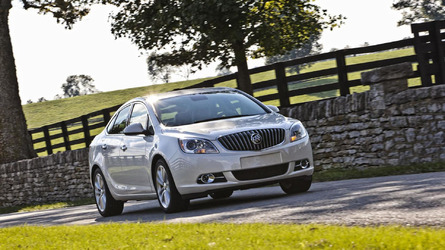 2016 Buick Verano recalled for fire risk