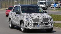 2015 Mercedes-Benz M-Class facelift spy photo